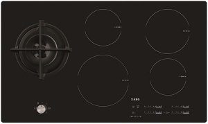 4 Induction hobs and 1 Gas Hob
