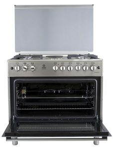 Mika MST90PU42HI/HC Standing Cooker Review big electric oven