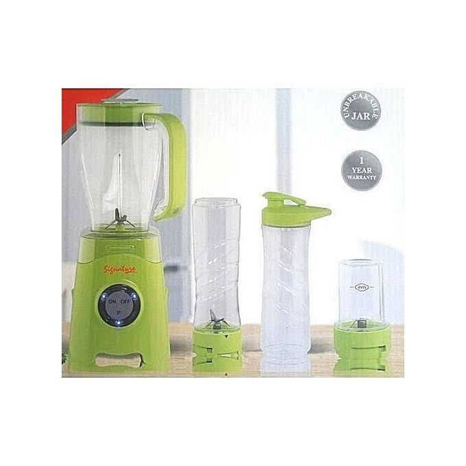 signature 4 in 1 blender smoothie review